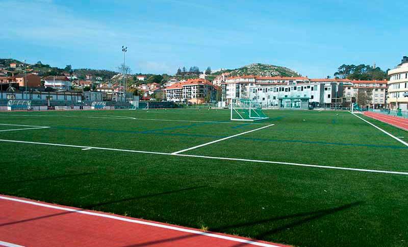 Instalacións Deportivas Campo de fútbol Baiona Aral