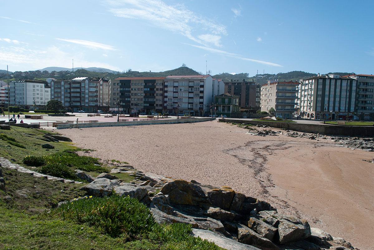Praia Concheira Baiona