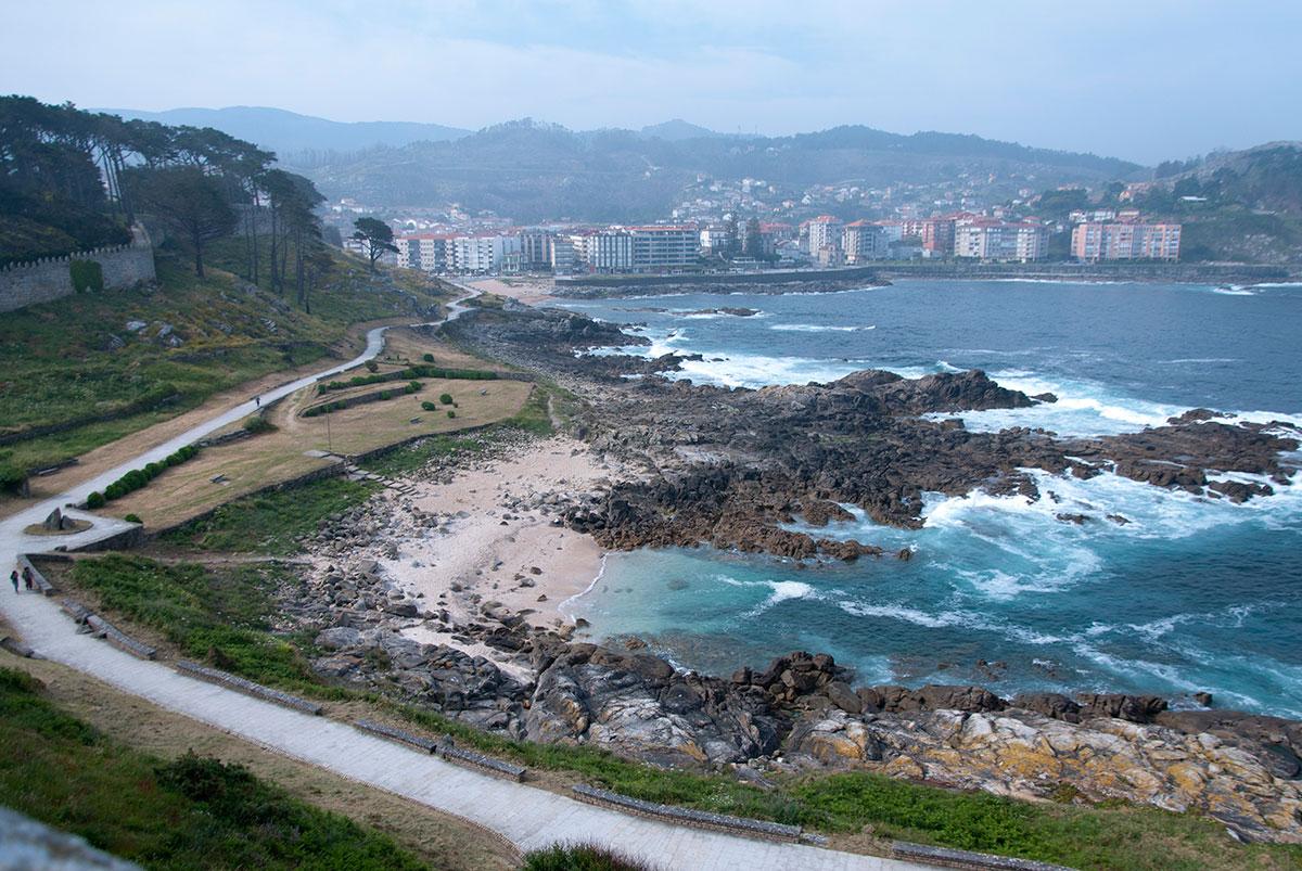 Praia Frades Baiona