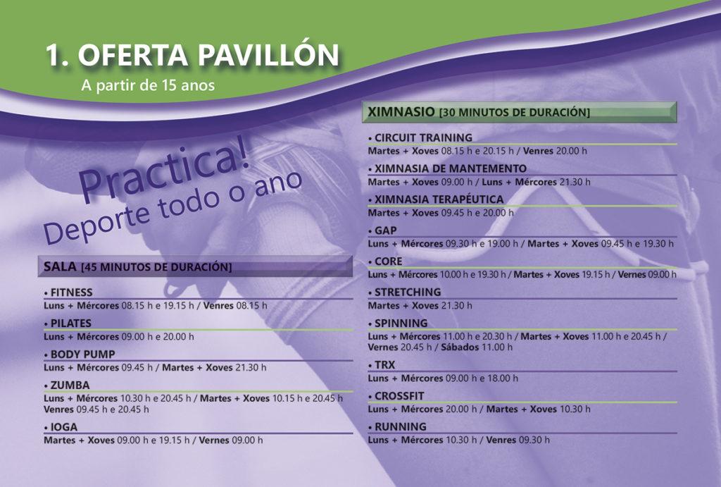 REDES oferta pavillon Baiona