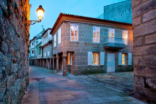 Casa Rehabilitada Baiona Noticia Refuerzo Urbanismo Baiona