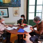 O Concello de Baiona rubrica por primeira vez un convenio de colaboración coa Asociación Avelaíña