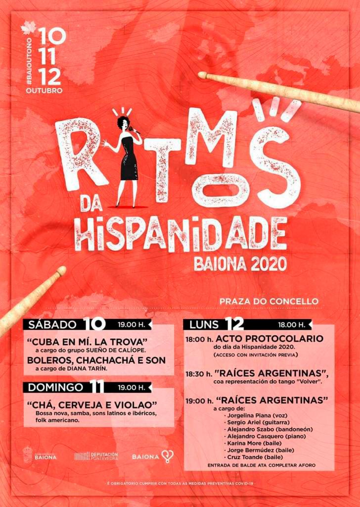 cartel Ritmos da Hispanidade