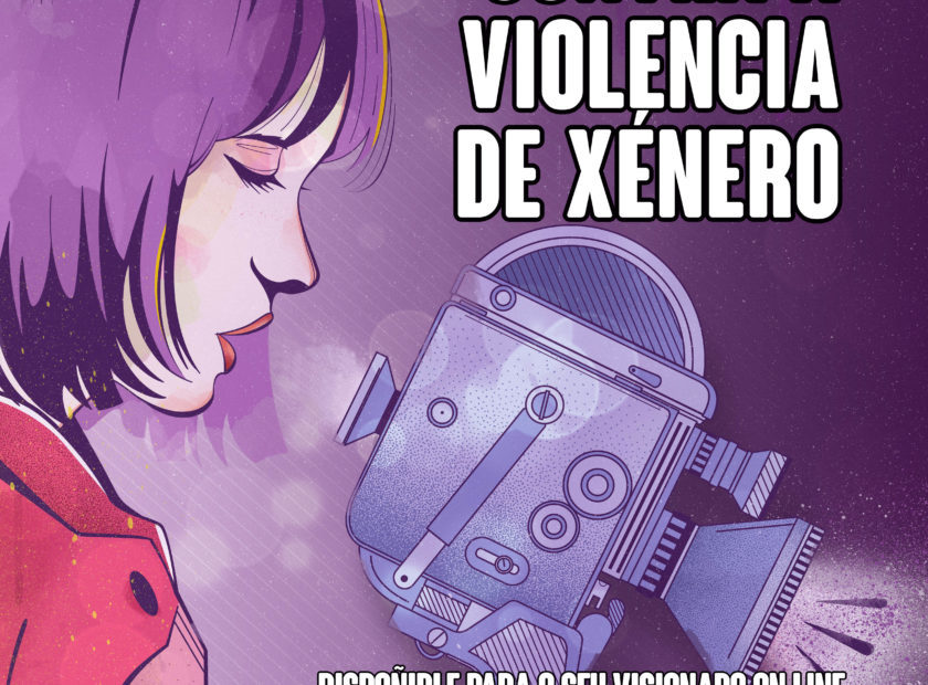 cartel cortos contra a violencia de xenero 840x620 Baiona