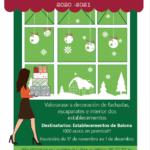 O Concello de Baiona organiza un concurso de decoración de nadal para os establecementos baioneses