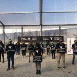 Baiona pon en marcha a campaña 'En negro contra as violencias'