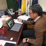 O Alcalde de Baiona mantén unha reunión telemática con responsables da Consellería de Sanidade e suspende a programación cultural do nadal ata nova orde
