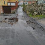 O Concello de Baiona asfalta a rúa Ponte en Baredo