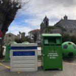 O Concello de Baiona instala varios contedores para a recollida selectiva de roupa usada con fin social