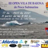 As augas de Cabo Silleiro acollerán o vindeiro sábado o III Campionato Open de Pesca Submarina Vila de Baiona