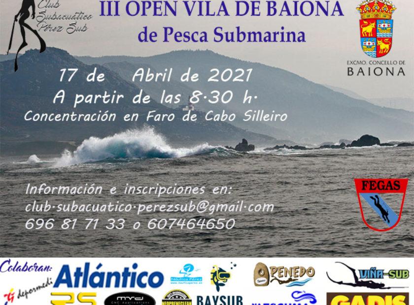 Cartel Baiona 2021 Baiona