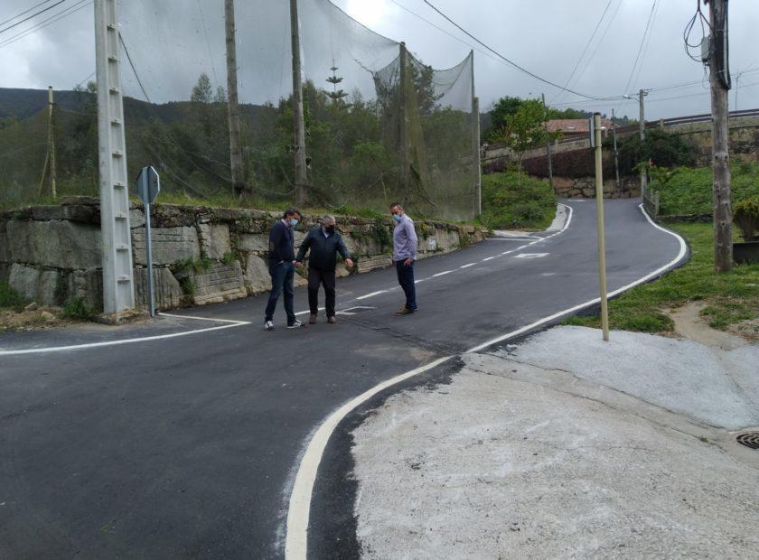 Obras Mejora Camino Fonteloureira 840x620 Baiona