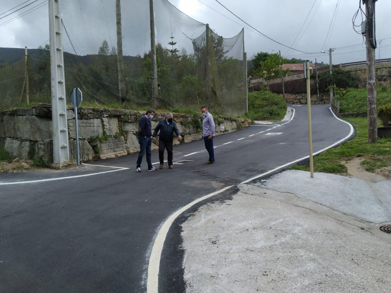 Obras Mejora Camino Fonteloureira scaled Baiona