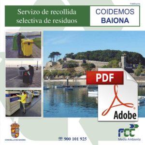 Folleto Informativo Servizo de recollida selectiva de residuos 1 Baiona