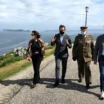 O Delegado do Goberno en Galicia vista as instalacións militares de Cabo Silleiro para coñecer de primeira man os plans do goberno local na zona