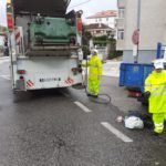 O Concello de Baiona reforza a limpeza de colectores