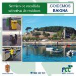 Folleto Informativo Servizo de recollida selectiva de residuos