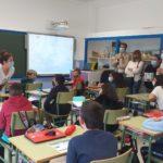 O Concello de Baiona realiza unha campaña de concienciación sobre reciclaxe nos colexios