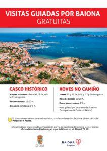 CARTEL VISITAS GUIADAS BAIONA VERANO 2021jpg Baiona