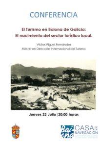 Cartel Conferencia Victor M. Fernandez Baiona