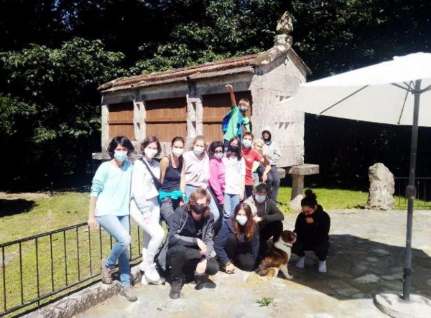 Visita protectora os Palleiros Proyecto Vinculate Baiona