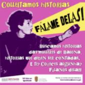 """Nace """"Fálame Delas"""" para rescatar as historias das  mulleres de Baiona"""