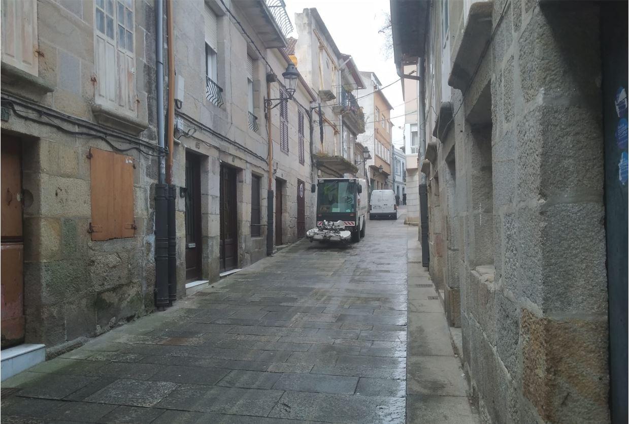 Decapacado Calles Baiona Limpieza Viaria Baiona