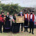 Baiona entrega o  título de Filla  Adoptiva a Marie  Savariau Dreno