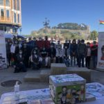 O Concello de Baiona aluméase de verde no Día Mundial da Saúde Mental